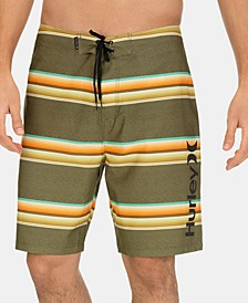 Men's Striped Board Shorts