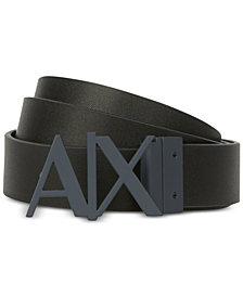 A|X Armani Exchange Men's Logo Belt
