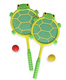 Melissa and Doug Kids Toy, Tootle Turtle Racquet and Ball Set