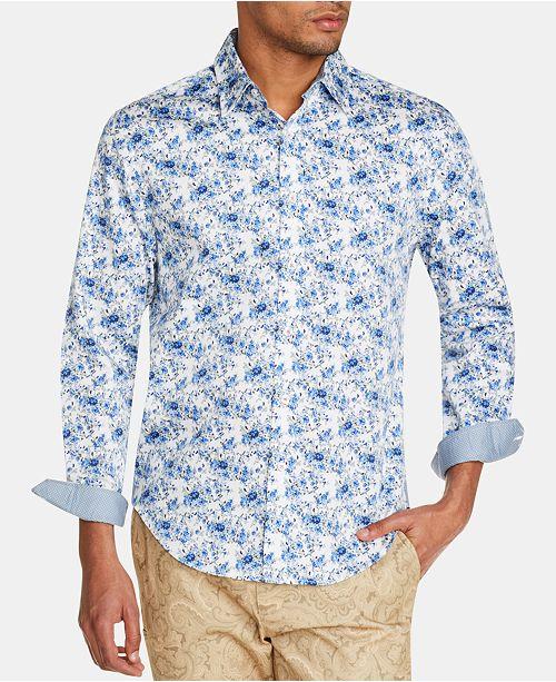 Tallia Men's Slim-Fit Floral Shirt