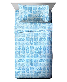 Galactic Grid Full 5-Pc. Bed in a Bag
