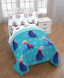 Frozen Swirl Full Comforter