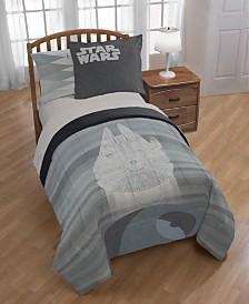 Star Wars Falcon vs. Death Star Queen Duvet Cover Set