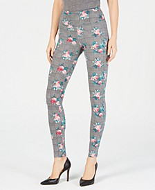 INC Shaping Printed Leggings, Created for Macy's