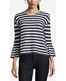 John Paul Richard Striped Sweater