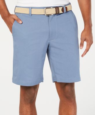 "Image of Club Room Men's Regular-Fit 9"" 4-Way Stretch Shorts, Created for Macy's"