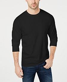 Men's Long Sleeve Crew-Neck T-Shirt, Created for Macy's