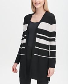 Calvin Klein Striped Cardigan
