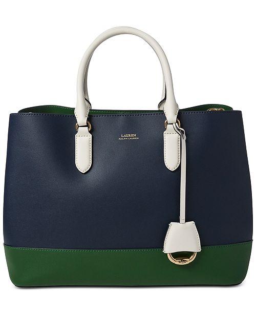 6cd00853c2 Lauren Ralph Lauren Marcy Leather Satchel & Reviews - Handbags ...