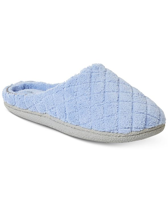 Dearfoams Leslie Quilted Microfiber Terry Clog Slipper, Online Only