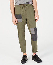 American Rag Men's Patchwork Cuffed Chinos, Created for Macy's