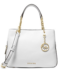 d87eab23a187 MICHAEL Michael Kors Lillie Pebble Leather Satchel