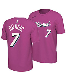 Nike Men's Goran Dragic Miami Heat Earned Edition Player T-Shirt
