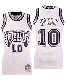 Mitchell & Ness Men's Mike Bibby Vancouver Grizzlies Concord Collection Swingman Jersey