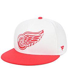 Authentic NHL Headwear Detroit Red Wings Basic Fan Fitted Cap