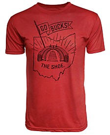 J America Men's Ohio State Buckeyes Tri-Blend '68 Go Bucks T-Shirt