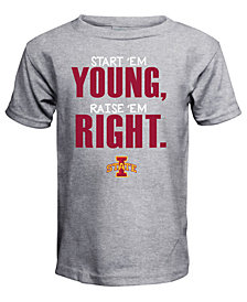 J America Iowa State Cyclones Raised Right T-Shirt, Toddler Boys (2T-4T)
