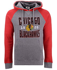 Majestic Men's Chicago Blackhawks Antique Tri-Blend Hoodie