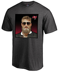 Majestic Men's Ryan Fitzpatrick Tampa Bay Buccaneers Fitz Photo T-Shirt