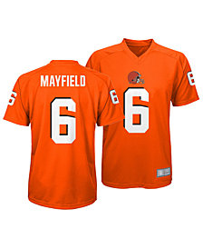 Outerstuff Baker Mayfield Cleveland Browns Jersey T-Shirt, Little Boys (4-7)