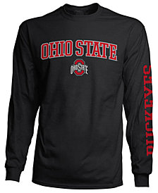 Colosseum Men's Ohio State Buckeyes Midsize Slogan Long Sleeve T-Shirt