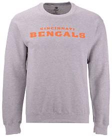 Authentic NFL Apparel Men's Cincinnati Bengals Gunslinger Crew Neck Sweatshirt