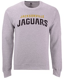 Authentic NFL Apparel Men's Jacksonville Jaguars Gunslinger Crew Neck Sweatshirt