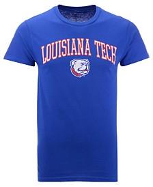 Retro Brand Men's Louisiana Tech Bulldogs Midsize T-Shirt