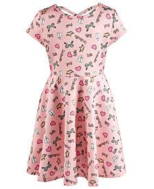 Disney Little Girls Printed Scuba Dress