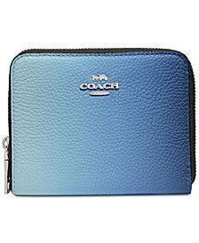COACH Ombre Zip Around Wallet