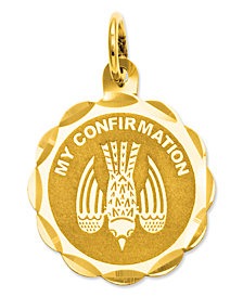 14k Gold Charm, My Confirmation Charm