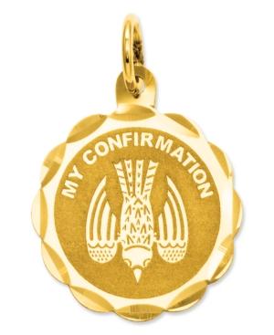 14k Gold Charm, My Confirmation Charm
