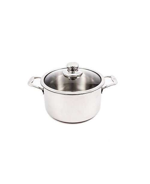 "Swiss Diamond Premium Clad Dutch Oven w/ Lid - 9.5"" , 6.7 Qt."