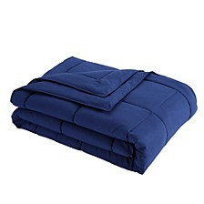 Down Alternative Blanket With Microfiber Cover and Water and Stain Resistance