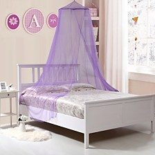 Kids Collapsible Wire Hoop Mosquito Net Bed Canopy