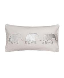 Home Sparkle Sequin Elephant Pillow