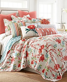 Home Simone Floral Full/Queen Quilt Set