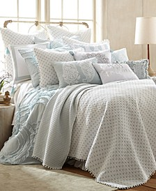 Home Ditsy Spa Twin Quilt Set