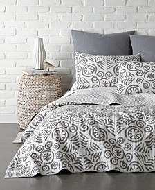 Levtex Home Constantinople Gray King Quilt and King Sham Set