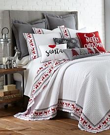Levtex Home Rudolph Twin Quilt Set