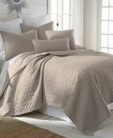 Home Bordeaux Taupe King Quilt Set