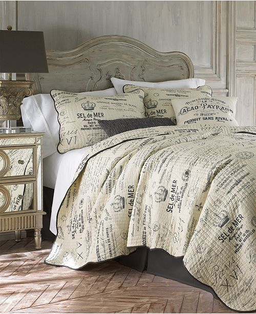 Levtex Home Histoire Gray King Quilt Set