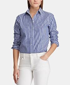 Lauren Ralph Lauren Non-Iron Striped Shirt