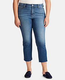Lauren Ralph Lauren Plus Size Regal Straight Jeans