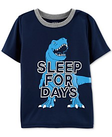 Carter's Little Boys Sleep For Days Graphic Pajama Top