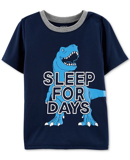 Carter's Little Boys Sleep For Days Graphic Pajama Top