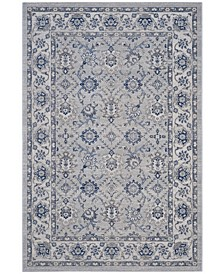 """Artisan Silver and Ivory 5'1"""" x 7'6"""" Area Rug"""