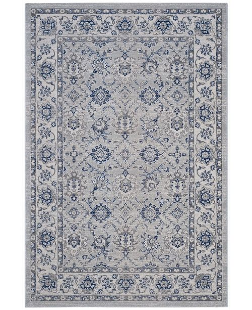 "Safavieh Artisan Silver and Ivory 5'1"" x 7'6"" Area Rug"