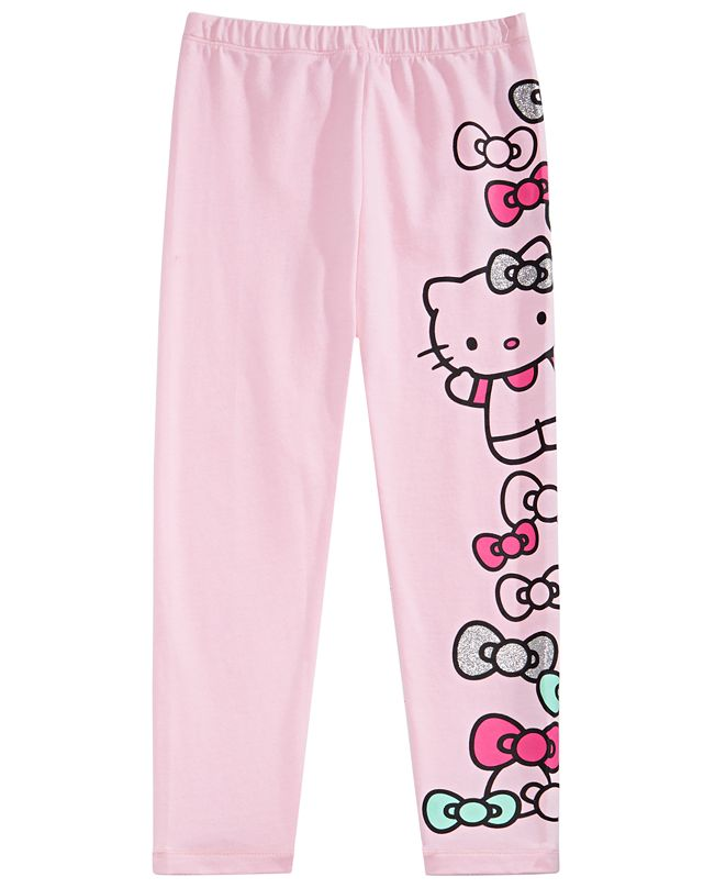 Hello Kitty Toddler Girls Graphic-Print Leggings