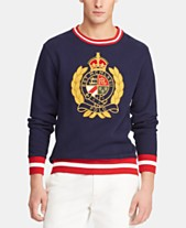 b1ca8e547916 Polo Ralph Lauren Men s Fleece Graphic Sweatshirt